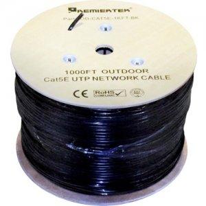 Premiertek Cat.5e UTP Network Cable OD-CAT5E-1KFT-BK