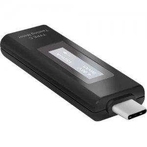 Premiertek USB Type C Voltage Amperage Power Testing Meter Monitor 20V 5A TCTM-100