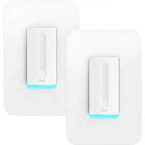Linksys Wemo Wi-Fi Smart Dimmer 2-Pack F7C059-BDL