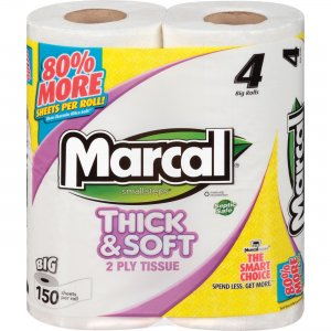 Marcal Thick & Soft Bath Tissue 03887 MRC03887