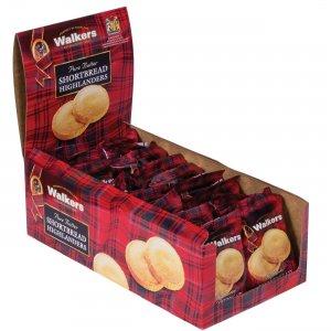 Office Snax Shortbread Highlanders Cookies W1177D OFXW1177D