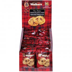 Office Snax Chocolate Chip Shortbread Cookies W1537D OFXW1537D