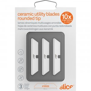 Slice Rounded Tip Ceramic Utility Blades 10526 SLI10526