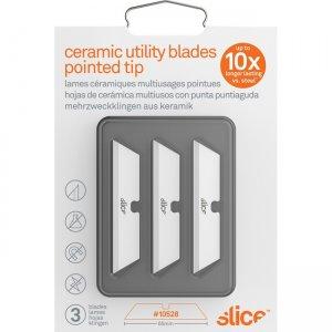 Slice Pointed Tip Ceramic Utility Blades 10528 SLI10528