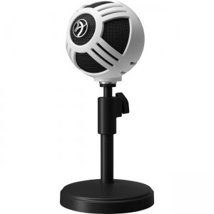 Arozzi Sfera Microphone - White SFERA-WHITE