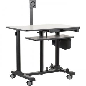 Oklahoma Sound Mobile Computer Sit-Stand Cart EDTCP