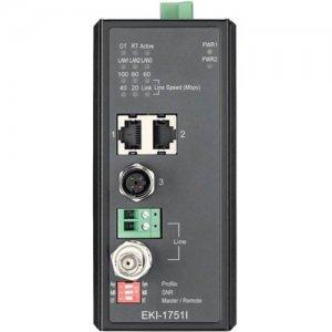B+B Industrial VDSL2 Ethernet Extender, M12 EKI-1751I-AE