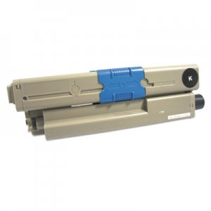 Innovera Remanufactured 44469802 High-Yield Toner, 5000 Page-Yield, Black IVR44469802 AC-O0530XK