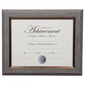 DAX 2-Tone Document Frame, 8 1/2 x 11 Insert, Gray/Gold Frame DAXN16982NT N16982NT
