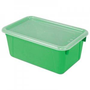 Storex Cubby Bins, 12.2 x 7.8 x 5.1, Green, 6/PK STX62409U06C 62409U06C