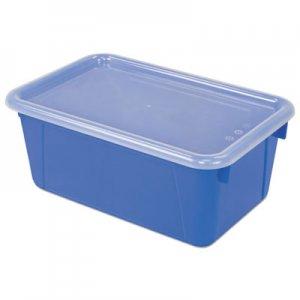 Storex Cubby Bins, 12.2 x 7.8 x 5.1, Blue, 6/PK STX62408U06C 62408U06C