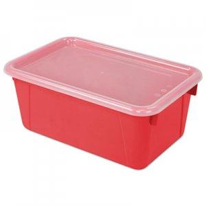 Storex Cubby Bins, 12.2 x 7.8 x 5.1, Red, 6/PK STX62407U06C 62407U06C