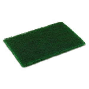 Disco Medium Duty Scouring Pad, 6 x 9, Green, 10 per Pack, 6 Packs/Carton CMCMD6900 MD69DISCO