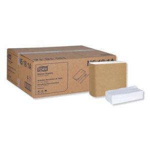 Tork Universal Dinner Napkins, 1-Ply, 15 x 17, 1/8 Fold, White, 3000/Carton TRKN5181A N5181A