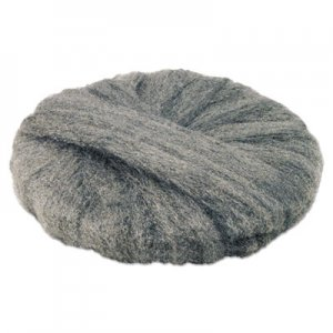 "GMT Radial Steel Wool Pads, Grade 2 (Coarse): Stripping/Scrubbing, 19"", Gray, 12/CT GMA120192 120192"