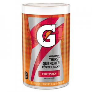 Gatorade Thirst Quencher Powder Drink Mix, Fruit Punch, 1.34oz Stick, 64/Carton GTD13166 13166