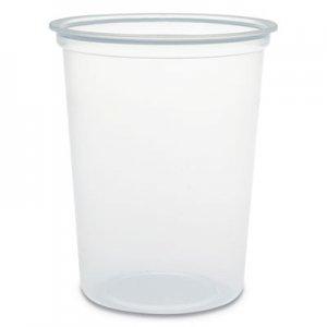 Dart Microgourmet Plastic Deli Container, 32 oz, Clear, 500/CT DCCMN320100 MN32-0100
