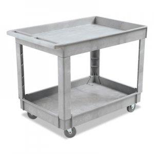 Boardwalk Utility Cart, Two-Shelf, Plastic Resin, 24w x 40d, Gray BWK4024UCGRA 3485207