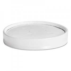 Chinet Vented Paper Lids, 8-16oz Cups, White, 25/Sleeve, 40 Sleeves/Carton HUH71870 71870