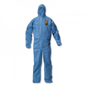 KleenGuard A20 Breathable Particle Protection Coveralls, X-Large, Blue, 24/Carton KCC58514 KCC 58514