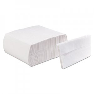 Morcon Paper Tall-Fold Embossed Napkins, 1-Ply, White, 13 1/2 x 7, Paper, 9000/Carton MOR20500DN MOR 20500DN