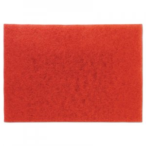 "3M Low-Speed Buffer Floor Pads 5100, 28"" x 14"", Red, 10/Carton MMM59065 5100"