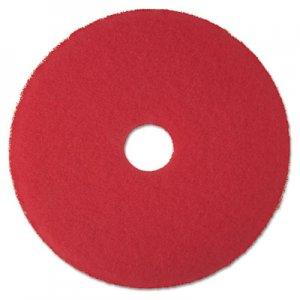 "3M Low-Speed Buffer Floor Pads 5100, 24"" Diameter, Red, 5/Carton MMM08399 5100"