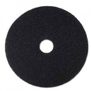 "3M Low-Speed Stripper Floor Pad 7200, 15"" Diameter, Black, 5/Carton MMM08377 7200"