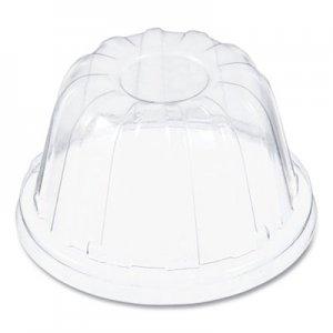 Dart D-T Sundae/Cold Cup Lids, Fits Foam Cups, Clear, 1,000 lids/CT, 50/PK, 20PK/CT DCC12HDLC