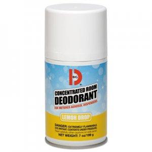 Big D Metered Concentrated Room Deodorant, Lemon Scent, 7 oz Aerosol, 12/Carton BGD451 045100