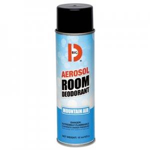 Big D Aerosol Room Deodorant, Mountain Air Scent, 15 oz Can, 12/Box BGD426 042600