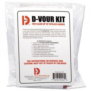 Big D D'vour Clean-up Kit, Powder, All Inclusive Kit, 6/Carton BGD169 016900