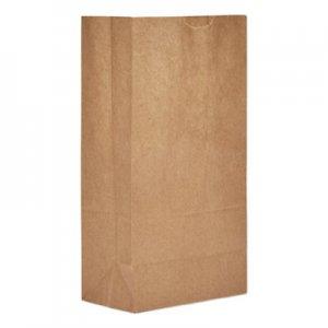 """Genpak Grocery Paper Bags, 5.25"""" x 10.94"""", Kraft, 3,000 Bags BAGGK5 BAG GK5"""