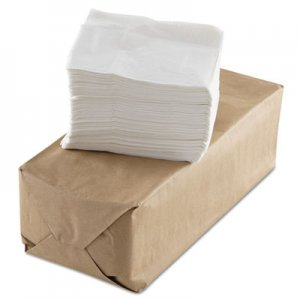 GEN Tall-Fold Napkins, 1-Ply, White, Paper, 10000/Carton GENUS501
