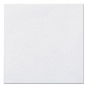 Hoffmaster Linen-Like Beverage Napkins, 1-Ply, 10 x 10, White, 125/Pack, 8 Packs/Carton HFM046118 046118
