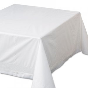 "Hoffmaster Tissue/Poly Tablecovers, 72"" x 72"", White, 25/Carton HFM210066 210066"