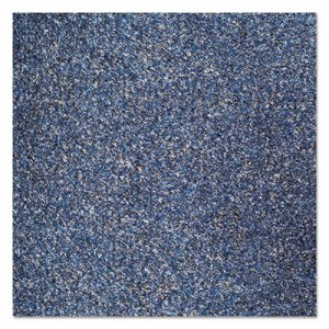 Crown Rely-On Olefin Indoor Wiper Mat, 36 x 48, Blue/Black CWNGS0034MB GS 0034MB