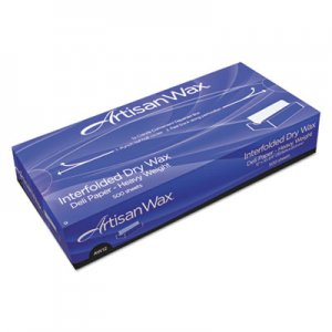 "Bagcraft Interfolded Dry Wax Deli Paper, 10"" x 10 3/4"", White, 500/Box, 12 Boxes/Carton BGC012010 P012010"