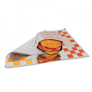 Bagcraft Honeycomb Insulated Special Wrap, 10 1/2 x 14, 500/Pack, 4 Packs/Carton BGC300854 BGC 300854