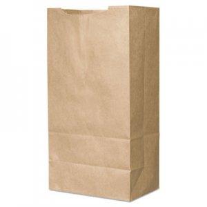 "Genpak Grocery Paper Bags, 12"" x 21.75"", Kraft, 250/Carton BAGSK1466SOST 84045"