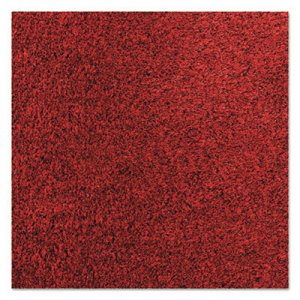 Crown Rely-On Olefin Indoor Wiper Mat, 36 x 120, Red/Black CWNGS0310CR GS 0310CR