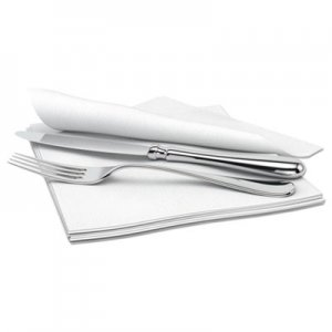 Cascades PRO Signature Airlaid Dinner Napkins/Guest Hand Towels, 1-Ply, 15x16.5, 1000/Carton CSDN695 N695