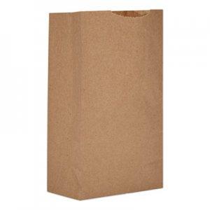 """Genpak Grocery Paper Bags, 4.75"""" x 8.56"""", Kraft, 500 Bags BAGGK3500 18403"""