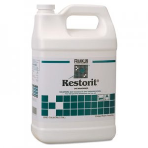 Franklin Cleaning Technology Restorit UHS Floor Maintainer, Liquid, 1 gal. Bottle FKLF191022 F191022