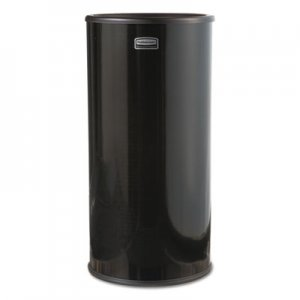 Rubbermaid Commercial Smokers' Urn, Sand, Black RCP1000E FG1000EBK
