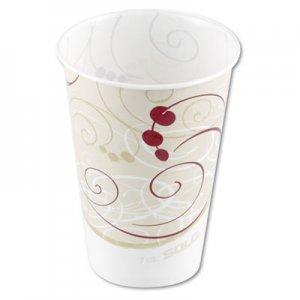 Dart Waxed Paper Cold Cups, 7 oz, Symphony Design SCCR7NSYM R7N-J8000