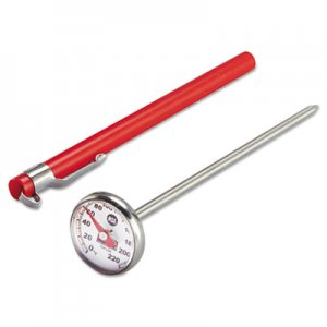 Rubbermaid Commercial Industrial-Grade Analog Pocket Thermometer, 0  F to 220  F PELTHP220C FGTHP220C
