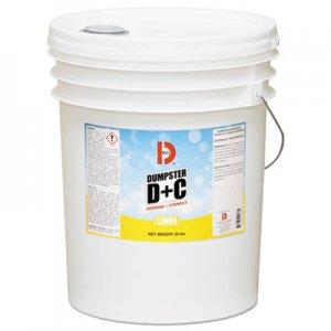 Big D Dumpster D Plus C, Neutral, 25 lb, Bucket BGD178 017800