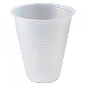 Fabri-Kal RK Ribbed Cold Drink Cups, 7 oz, Clear FABRK7 9508022