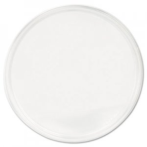 Fabri-Kal PolyPro Microwavable Deli Container Lids, Clear, 500/Carton FABPPLID 9505466
